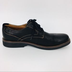 G.HBASS&CO Brown Leather LaceUp Derby Oxford Shoes